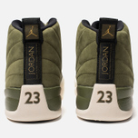 Мужские кроссовки Jordan Air Jordan 12 Retro Olive Canvas/Sail/Black/Metallic Gold фото- 3