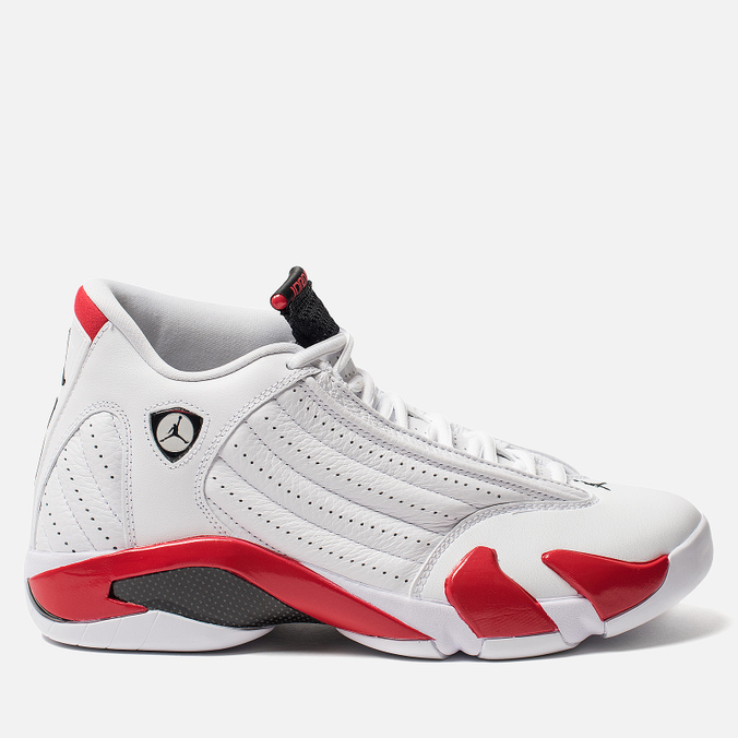 Мужские кроссовки Jordan Air Jordan 14 Retro White/Black/Varsity Red/Metallic Silver