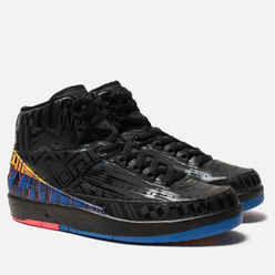 Мужские кроссовки Jordan Air Jordan 2 Retro Black History Month Black/Metallic Gold