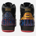 Мужские кроссовки Jordan Air Jordan 2 Retro Black History Month Black/Metallic Gold фото- 3