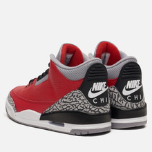 Мужские кроссовки Jordan Air Jordan 3 CHI Varsity Red/Varsity Red/Cement Grey фото- 2