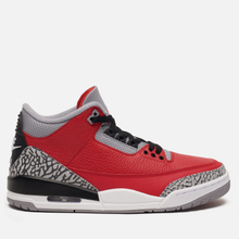 Мужские кроссовки Jordan Air Jordan 3 CHI Varsity Red/Varsity Red/Cement Grey фото- 3