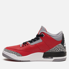 Мужские кроссовки Jordan Air Jordan 3 CHI Varsity Red/Varsity Red/Cement Grey фото- 5
