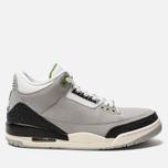 Мужские кроссовки Jordan Air Jordan 3 Retro Light Smoke Grey/Chlorophyll/Black/White фото- 0