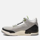 Мужские кроссовки Jordan Air Jordan 3 Retro Light Smoke Grey/Chlorophyll/Black/White фото- 1
