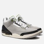 Мужские кроссовки Jordan Air Jordan 3 Retro Light Smoke Grey/Chlorophyll/Black/White фото- 2