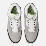 Мужские кроссовки Jordan Air Jordan 3 Retro Light Smoke Grey/Chlorophyll/Black/White фото- 5
