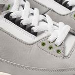 Мужские кроссовки Jordan Air Jordan 3 Retro Light Smoke Grey/Chlorophyll/Black/White фото- 6