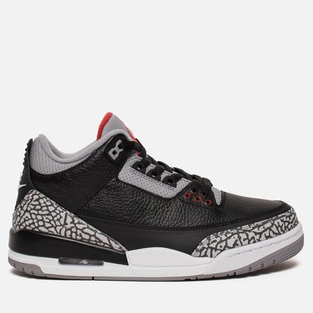 Мужские кроссовки Jordan Air Jordan 3 Retro OG Black/Fire Red/Cement Grey