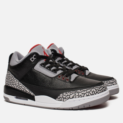 Мужские кроссовки Jordan Air Jordan 3 Retro OG Black/Fire Red/Cement Grey