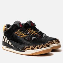 Мужские кроссовки Jordan Air Jordan 3 Retro SE Animal Pack Black/Multi-Color/Dark Mocha/Rope фото- 0