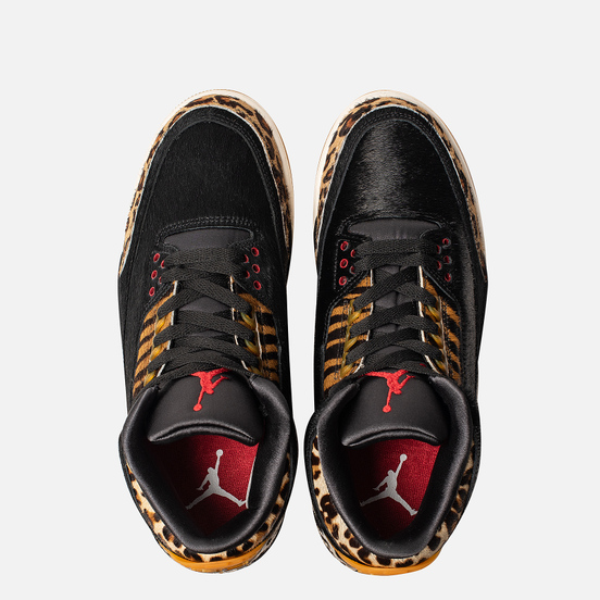 Мужские кроссовки Jordan Air Jordan 3 Retro SE Animal Pack Black/Multi-Color/Dark Mocha/Rope