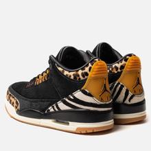 Мужские кроссовки Jordan Air Jordan 3 Retro SE Animal Pack Black/Multi-Color/Dark Mocha/Rope фото- 2