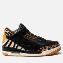 Мужские кроссовки Jordan Air Jordan 3 Retro SE Animal Pack Black/Multi-Color/Dark Mocha/Rope фото- 3