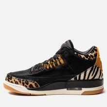Мужские кроссовки Jordan Air Jordan 3 Retro SE Animal Pack Black/Multi-Color/Dark Mocha/Rope фото- 5