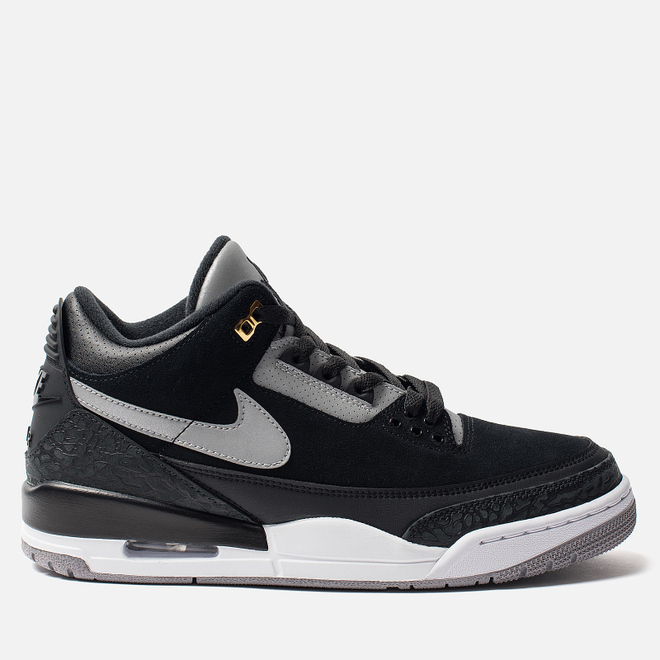 Мужские кроссовки Jordan Air Jordan 3 Retro Tinker Hatfield Black/Cement Grey/Metallic Gold