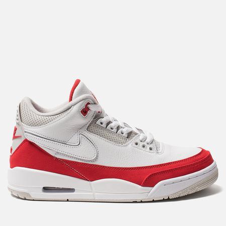 Мужские кроссовки Jordan Air Jordan 3 Retro Tinker Hatfield SP White/University Red/Neutral Grey