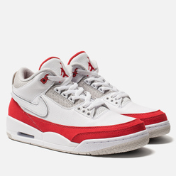 Мужские кроссовки Jordan Air Jordan 3 Retro Tinker Hatfield SP White/University Red/Neutral Grey