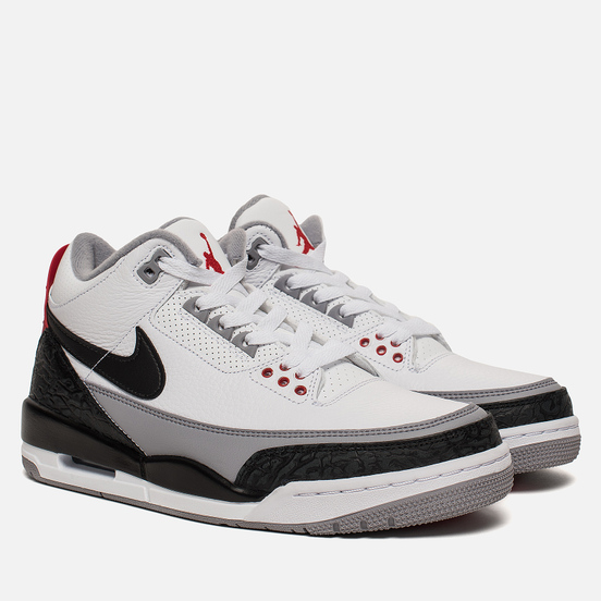 Мужские кроссовки Jordan Air Jordan 3 Retro Tinker NRG White/Fire Red/Cement Grey/Black