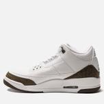Мужские кроссовки Jordan Air Jordan 3 Retro White/Dark Mocha/Chrome фото- 1