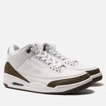 Мужские кроссовки Jordan Air Jordan 3 Retro White/Dark Mocha/Chrome фото- 2