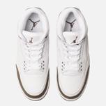 Мужские кроссовки Jordan Air Jordan 3 Retro White/Dark Mocha/Chrome фото- 5