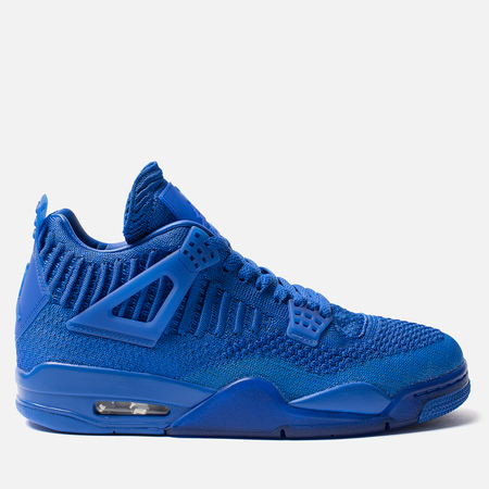 Мужские кроссовки Jordan Air Jordan 4 Retro Flyknit Hyper Royal/Black/Hyper Royal