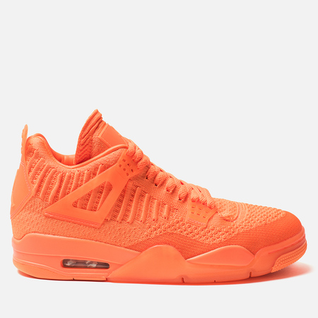 Мужские кроссовки Jordan Air Jordan 4 Retro Flyknit Total Orange/Total Orange/Total Orange