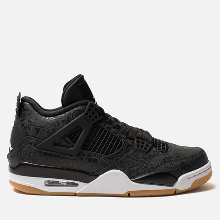 Мужские кроссовки Jordan Air Jordan 4 Retro SE Black/White/Gum Light Brown