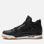 Мужские кроссовки Jordan Air Jordan 4 Retro SE Black/White/Gum Light Brown фото- 1