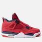 Мужские кроссовки Jordan Air Jordan 4 Retro SE FIBA Gym Red/Obsidian/White/Metallic Gold фото - 3
