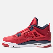 Мужские кроссовки Jordan Air Jordan 4 Retro SE FIBA Gym Red/Obsidian/White/Metallic Gold фото- 1