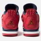 Мужские кроссовки Jordan Air Jordan 4 Retro SE FIBA Gym Red/Obsidian/White/Metallic Gold фото - 2