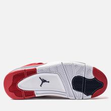 Мужские кроссовки Jordan Air Jordan 4 Retro SE FIBA Gym Red/Obsidian/White/Metallic Gold фото- 4