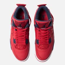 Мужские кроссовки Jordan Air Jordan 4 Retro SE FIBA Gym Red/Obsidian/White/Metallic Gold фото- 5