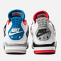 Мужские кроссовки Jordan Air Jordan 4 Retro SE What The White/Military Blue/Fire Red/Tech Grey фото - 2