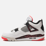 Мужские кроссовки Jordan Air Jordan 4 Retro White/Black/Bright Crimson фото- 1