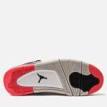 Мужские кроссовки Jordan Air Jordan 4 Retro White/Black/Bright Crimson фото- 5