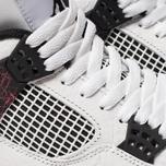 Мужские кроссовки Jordan Air Jordan 4 Retro White/Black/Bright Crimson фото- 6