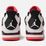 Мужские кроссовки Jordan Air Jordan 4 Retro White/Black/Bright Crimson фото- 4