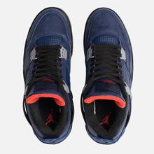 Мужские кроссовки Jordan Air Jordan 4 Retro Winter Loyal Blue/Black/White/Habanero Red фото- 1