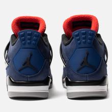 Мужские кроссовки Jordan Air Jordan 4 Retro Winter Loyal Blue/Black/White/Habanero Red фото- 2