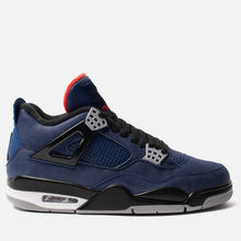 Мужские кроссовки Jordan Air Jordan 4 Retro Winter Loyal Blue/Black/White/Habanero Red фото- 3