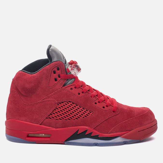 Мужские кроссовки Jordan Air Jordan 5 Red Suede University Red/Black/University Red