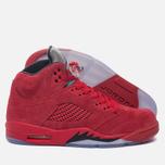 Мужские кроссовки Jordan Air Jordan 5 Red Suede University Red/Black/University Red фото- 1