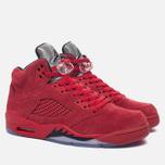 Мужские кроссовки Jordan Air Jordan 5 Red Suede University Red/Black/University Red фото- 2