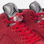 Мужские кроссовки Jordan Air Jordan 5 Red Suede University Red/Black/University Red фото- 3