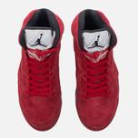 Мужские кроссовки Jordan Air Jordan 5 Red Suede University Red/Black/University Red фото- 4
