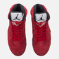 Мужские кроссовки Jordan Air Jordan 5 Red Suede University Red/Black/University Red фото - 1