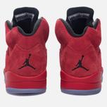 Мужские кроссовки Jordan Air Jordan 5 Red Suede University Red/Black/University Red фото- 5